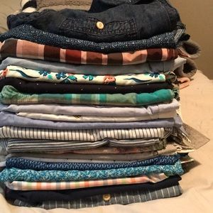 20 Random Short Sleeve Button ups